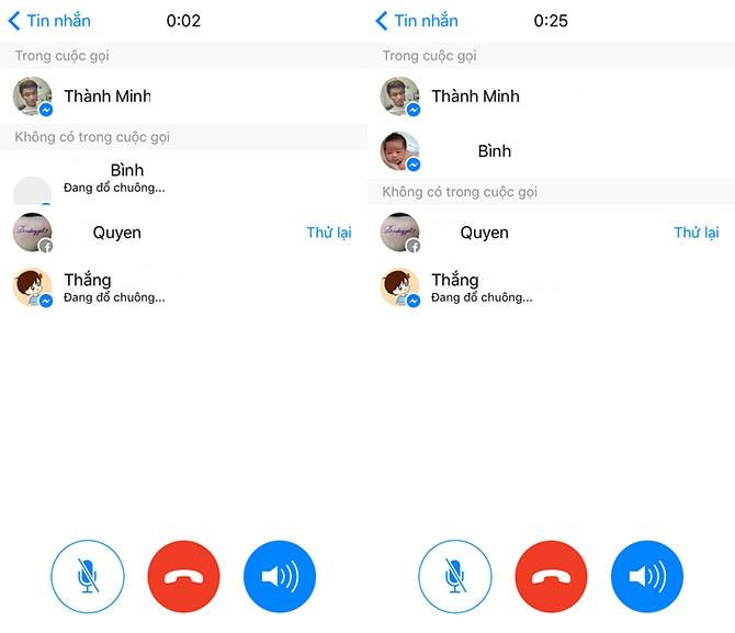 Facebook Messenger cho phép gọi điện nhóm tới 50 người, hỗ trợ cả iOS và Android