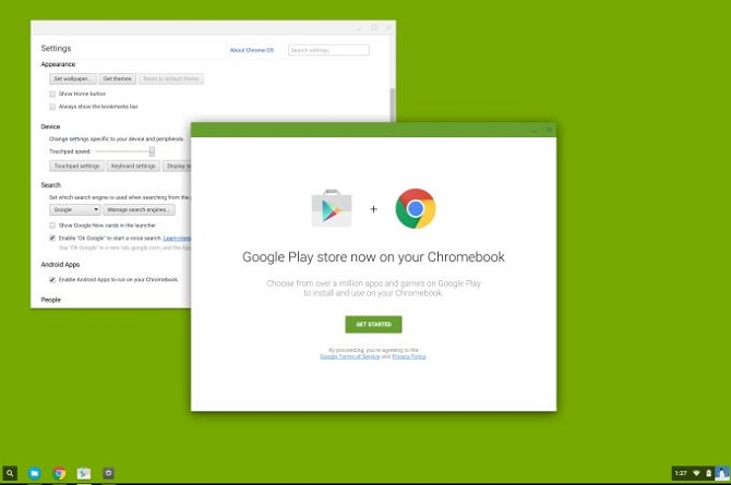 Google sắp mang 1 triệu ứng dụng Android lên Chrome OS?
