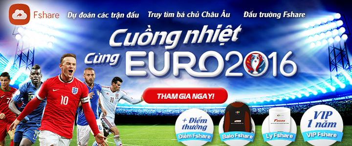 [Event] CUỒNG NHIỆT EURO CÙNG FSHARE.VN
