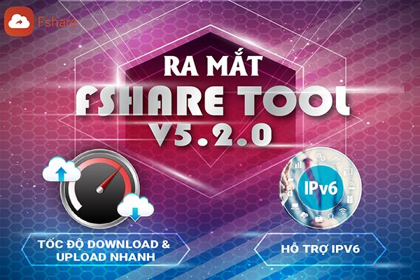 Fshare Tool V5.2.0