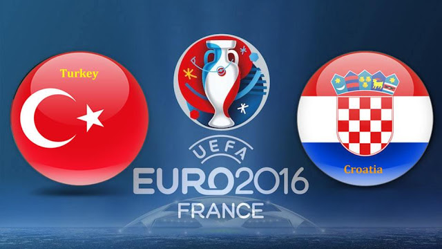 Trực tiếp : Thổ Nhĩ Kỳ VS Croatia