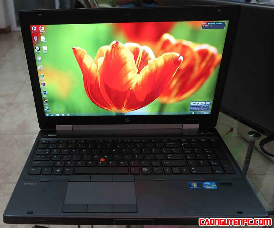 [Review] Laptop HP EliteBook Workstation 8570w: Máy cấu hình cao, bền, đẹp, giá rẻ | Giá khoảng 11 triệu