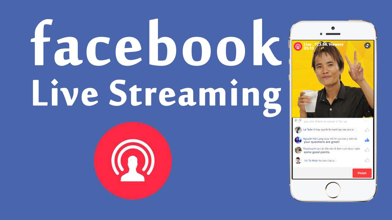Hướng dẫn Live Stream video trên Facebook bằng Smartphone