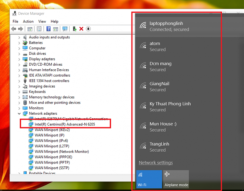 Tối ưu hóa driver Wifi Windows 10