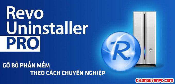 Revo Uninstaller Pro 3.0.8 Full Crack - Phần mềm gỡ bỏ ứng dụng ưu việt