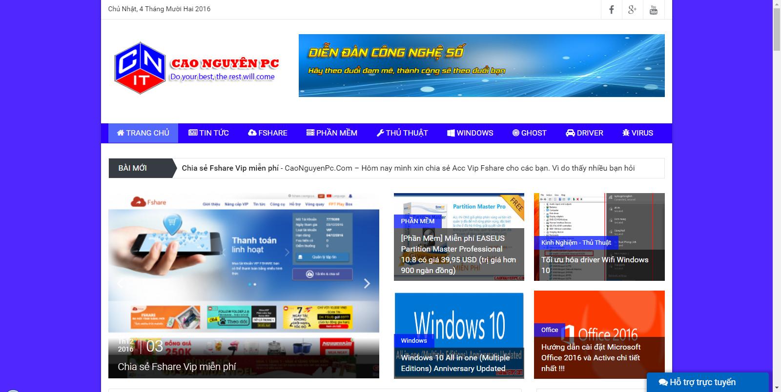 Tổng hợp những bài viết hướng dẫn chia sẻ phần mềm hay dùng
